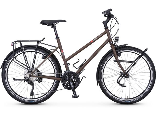 """vsf fahrradmanufaktur TX-400 Trapez XT 30-Marchas 26"""", sepia brown matte"""